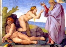 Creation of Eve in Gen_02-22 by Michelangelo