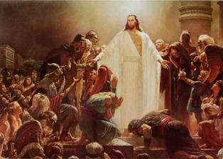 The Risen Lord [by Arnold Friberg]